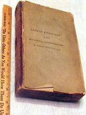 SACRED BIOGRAPHY: or THE HISTORY OF THE PATRIARCHS, vol VI, 1792, Henry Hunter