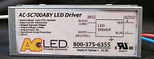 AC ELECTRONICS  AC-5C700ABY LED DRIVER 5 WATTS