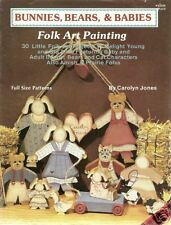 Carolyn Jones: BUNNIES, BEARS & BABIES Painting Book
