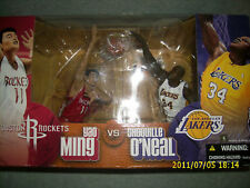 MCFARLANE NBA ROCKETS LAKERS MING VS ONEAL 2 PACK
