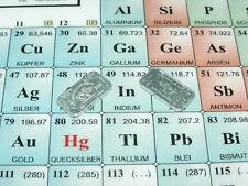 In 49 Indium Barren 1g Kleinbarren bullion element sample 3N Sammler PSE PTE Neu