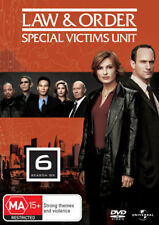 LAW AND ORDER: SPECIAL VICTIMS UNIT - SEASON 6  -  DVD - UK Compatible