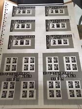 UNCUT PRESS SHEET *ART CANADA: Yousuf Karsh Armenian Canadian numbered limited e