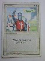 MTG Magic the Gathering English Crusades 1994 Revised 3rd Edition HP
