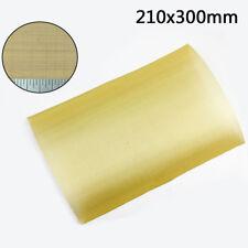 EXTRA-FINE Heavy Duty Brass Mesh Woven Wire Filter Oil 100 Hole A4 Sheet 21x30cm