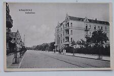 26948 AK GRAUDENZ Lindenstraße um 1914 Grudziądz Westpreußen