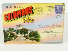 COLUMBUS, OHIO Picture Postcard Set