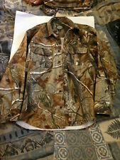 Cabela's  Camo Long Sleeve Button Up Outdoor  Hunting Shirt Medium