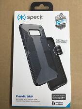 Speck Presidio Grip Series Slim Case Cover for Samsung Galaxy S8+ (Plus) - Gray