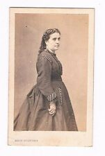 Marie Laurent - Grande Tragédienne - Photographie CDV - XIXème - Circa 1860