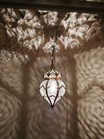 Moroccan pendent oriental brass hanging lamp Ceiling light chandelier handmade
