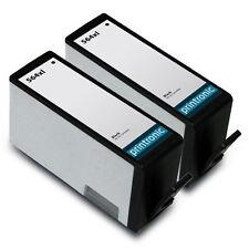 2 Pack HP 564XL Black Ink Cartridge - Deskjet 3070a 3520 3521 3522 3526 Printer
