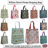 LADIES WILLIAM MORRIS LEONARDO COLLECTION REUSEABLE SHOPPING CARRIER TOTE BAG