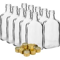 20 x 100ml -  GLASS bottles + 20 Caps Home Brewing Fast Delivery Fast P&P UK