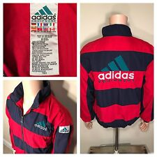 Vintage Adidas Equipment EQT Jacket 90s spell out big logo Patch OG windbreaker
