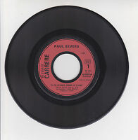 Paul SEVERS Vinyle 45T SI TU M'AIMES COMME JE T'AIME Juke Box CARRERE 49041 RARE