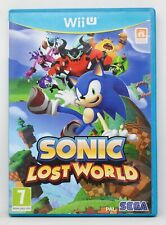 SONIC LOST WORLD - NINTENDO WII U WIIU - PAL ESPAÑA - DEADLY SIX