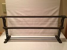 Antique Queen Paper Cutter Holder Old General Store Farmhouse Cast Iron Metal