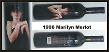 1996 MARILYN MONROE MERLOT Red Wine SEALED Collectible Celebrity MINT  *********