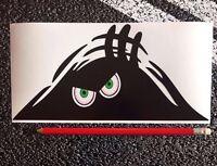 PEEPER Scary Monster Funny Car Bumper Window / Vinyl Decal Sticker JDM Drift