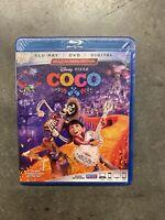 Coco (Blu-ray/DVD, 2018, 2-Disc Set, Includes Digital Copy)