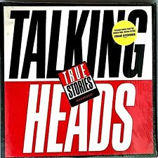 "TALKING HEADS ""True Stories"" Vinyl LP - Original 1986 Sire 9 25112-1 - NM / NM"