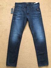 "REPLAY MASIG Men's Regular Slim Fit Dark Blue Jeans, Size W32"", L34"", £145."