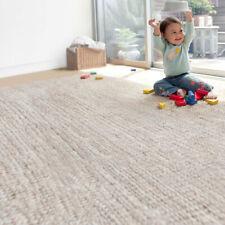 Solid Color Tassel Cotton Linen Floor Mat Bedroom Hand Made Baby Crawling