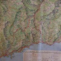 Carte de France Nice M662 feuille R21 IGNF 1974 Géographie Armée PN France N2322