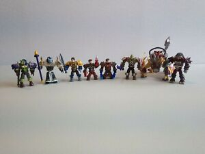 MEGA BLOKS world of warcraft Minifigure Lot