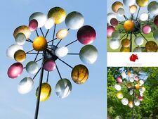 Girouette vintage type Eames déco de jardin Wind spinner garden decor Windspiel