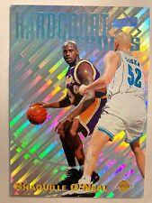 SHAQUILLE O'NEAL 1997 Stadium Club Hardcourt Heroes  NBA Basketball Card insert
