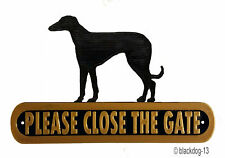 Handmade Greyhound Signs & Plaques