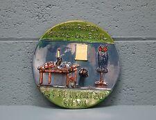 Decorative Dutch proverb plate (10000i)