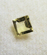 VERY NICE 5 mm SQUARE CUT YELLOW CITRINE BRAZIL