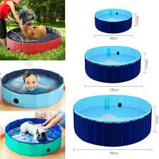 Faltbar Hundepool Kinder Pool Baby Planschbecken Sommer Schwimmbad Schwimmbecken