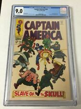 Captain America 104 Cgc 9.0 White Pages