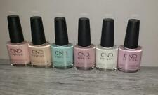 CND Vinylux Nail Polish 6 Piece LOT-Nice selection of Pastels-Free Shipping