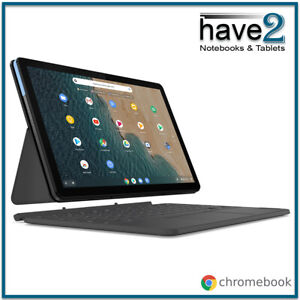 """LENOVO IdeaPad Duet 2-in-1 Chromebook 10"""" Laptop Tablet with Keyboard Pack"""