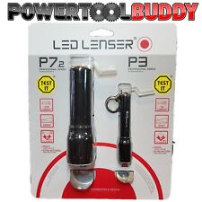 LED Lenser Torch Set P7.2 P3AFS High Power AAA Hand Flash Light Twin Pack LL1024