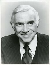 LORNE GREENE SMILING PORTRAIT CODE RED ORIGINAL 1981 ABC TV PHOTO