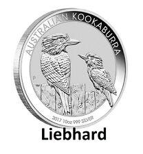 10$ Silber / Silver Australien / Australian Kookaburra 10 OZ 2017