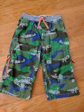 Mini Boden Boys camo airplane shorts size 11 Y