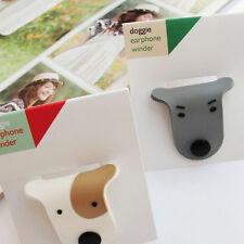 Cartoon Cute Doggie Button Lovers Earphone Winder 2X Colors Phone Ipod Mp3