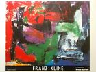 FRANZ KLINE RARE VTG 1987 ABSTRACT EXPRNST LITHOGRAPH PRINT ITALIAN EXBTN POSTER