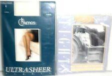 CHARNOS & ST MICHAEL Vintage ultra sheer Wedding tights + shell print tights