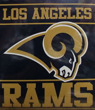 Licensed Nfl Football Los Angeles Rams Royal Plush King Size Throw Blanket