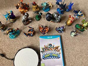 Skylanders Swap Force bundle - Wii U game + portal + 17 electronic figures