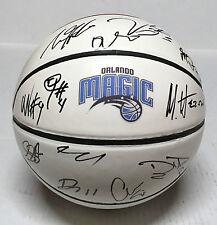 2015 ORLANDO MAGIC TEAM Signed Autographed Basketball COA! OLADIPO/VUCEVIC++