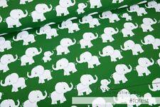 """Jersey-Stoff Baby Kinder Elefant kleine Elefanten Jungs grün """"matti #forest"""""""